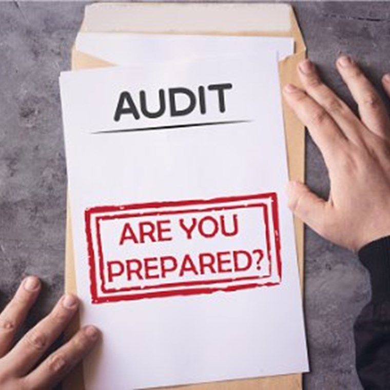 ​audit are you prepared on an envelope
